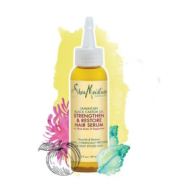 SheaMoisture Jamaican Black Castor Oil Strengthen & Restore Oil Serum