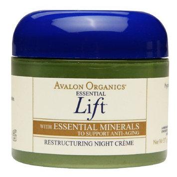 Avalon Organics Essential Lift Restructuring Night Creme