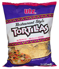 Utz Restaurant Style Tortillas
