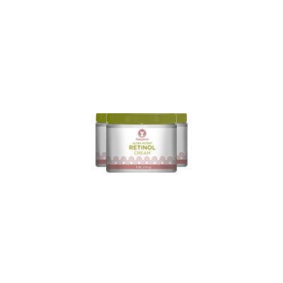 Piping Rock Retinol Cream Vitamin A Cream 3 Jars x 4 oz 400,000 IU per Jar