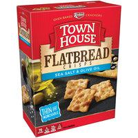Keebler Town House Flatbread Crisps Sea Salt & Olive Oil Crackers