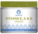 Piping Rock Revitalizing Vitamin E, A & D Cream 4 oz
