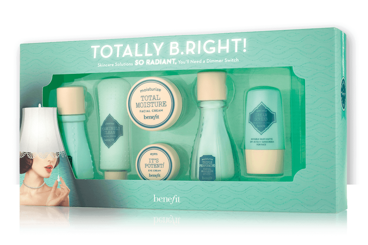 Benefit Cosmetics Totally B.Right! Skincare Set