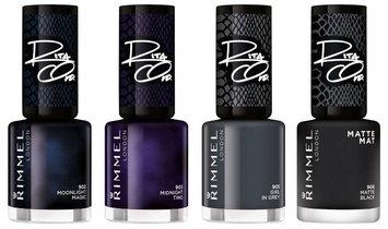 Rimmel London 60 Seconds Rita's Shade Of Black Nail Colour