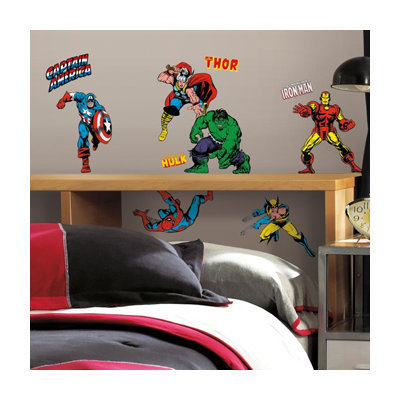 Roommates RMK2328SCS Marvel Classics Peel and Stick Wall Decals