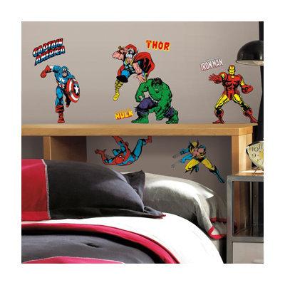 Roommates RMK2328SCS Marvel Classics Peel and Stick Wall Decals