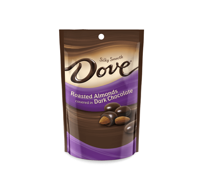 Dove Chocolate Promises Almonds Covered In Silky Smooth Dark Chocolate