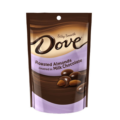 Dove Chocolate Roasted Almonds Silky Smooth Milk Chocolate
