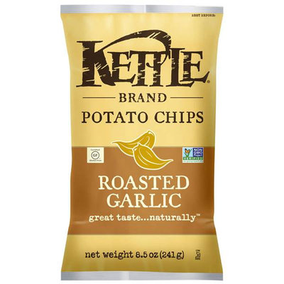 Kettle Brand® Roasted Garlic Potato Chips
