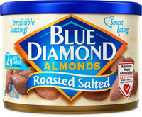 Blue Diamond® Almonds, Can, Roasted Salted