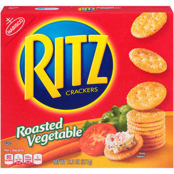 Nabisco RITZ Crackers Roasted Vegetable