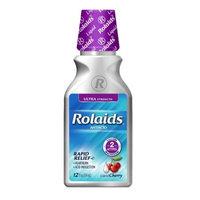 Rolaids Ultra Strength Liquid Cherry Antacid