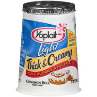 Yoplait® Light Thick & Creamy Cinnamon Roll Yogurt