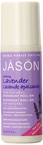 JĀSÖN Calming Lavender Deodorant Roll On