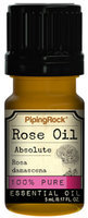 Piping Rock Rose Oil Absolute 5 ml 100% Pure Oil Therapeutic Grade