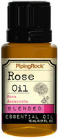Piping Rock Rose Essential Oil Blend 1/2 oz Blended Oil Therapeutic Grade