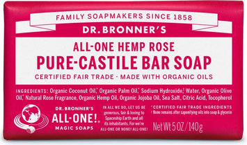 Dr. Bronner's All-One Hemp Rose Pure - Castile Bar Soap