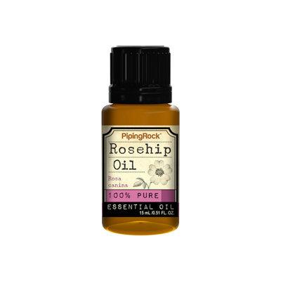 Piping Rock Rosehip Essential Oil 1/2 oz 100% Pure Oil Therapeutic Grade