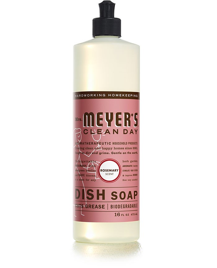 Mrs. Meyer's Clean Day Rosemary Dish Soap