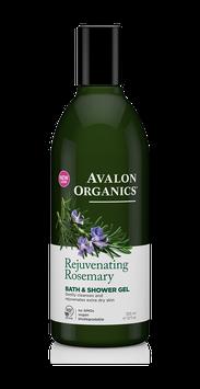 Avalon Organics Rejuvenating Rosemary Bath & Shower Gel