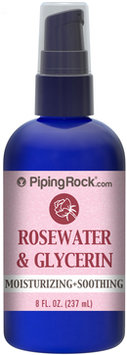 Piping Rock Rosewater and Glycerin 8 fl oz Spray Bottle