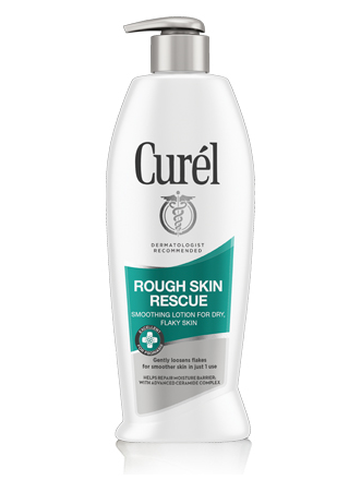 Curél® ROUGH SKIN RESCUE SMOOTHING LOTION FOR DRY FLAKY SKIN