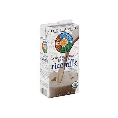Full Circle Organic Vanilla Enriched Ricemilk