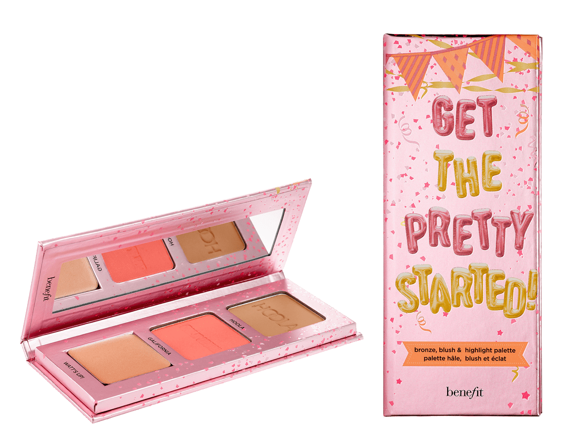 Benefit Cosmetics Get The Pretty Started Mini Cheek Palette