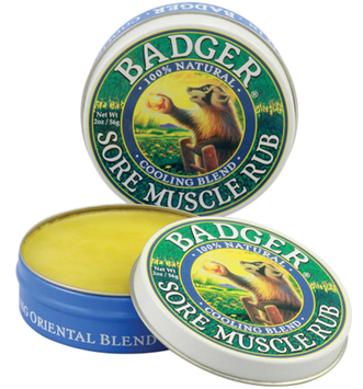 BADGER® Organic Sore Muscle Rub - Cooling Blend