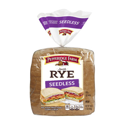 Pepperidge Farm® Seedless Rye Bread Soft