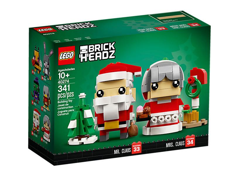 LEGO® Brickheadz Mr And Mrs Claus