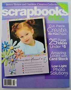 Scrapbooks Etc. - May/June 2006