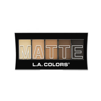 L.A. Colors Silky Smooth Matte Eye Shadow Palette