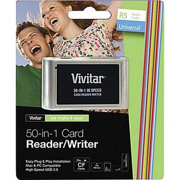 Vivitar VIV-RW-50 50-In-1 Card Reader