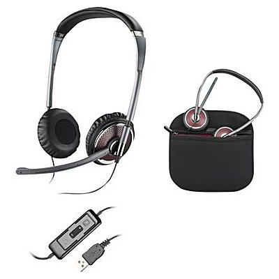 Plantronics Blackwire C420-M Headset - Stereo - USB