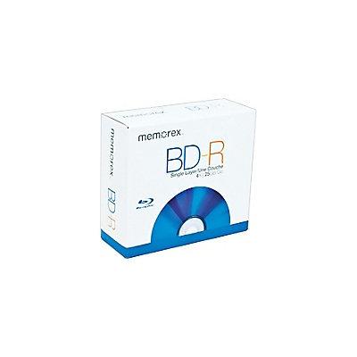 Memorex 4x BD-R Media (5-pack Jewel Cases) 97948