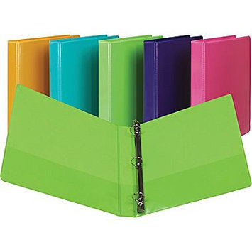 Samsill U86308 Presentation View Binder 1 Capacity Grape 2/Pack