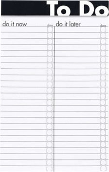 Esselte Ampad To Do Notepad, 5