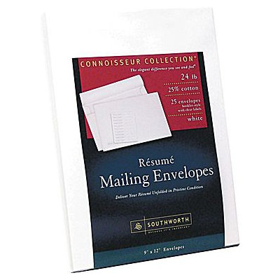 Southworth Resume Presentation Envelopes