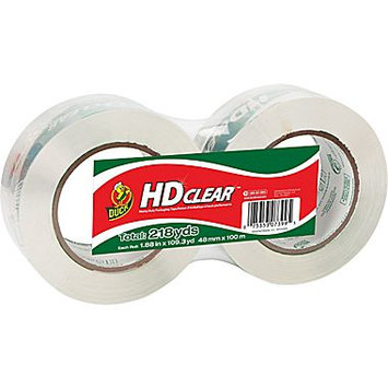 Duck HD Clear Double Length Sealing Tape