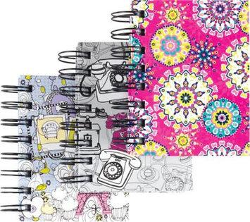 Staples Mini Fashion Notebooks, 3 1/4