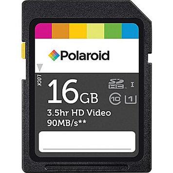 Polaroid 16GB Class 10 UHS-1 Performance SDHC Flash Memory Card
