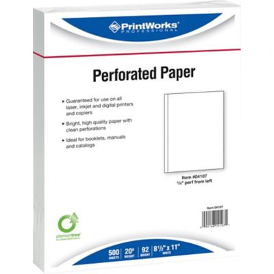 Printworks Professional Perforated