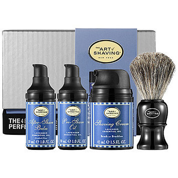The Art of Shaving The 4 Elements of the Perfect Shave Carry-On - Lavender