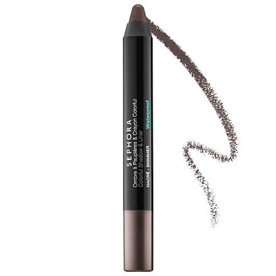 SEPHORA COLLECTION Colorful Shadow & Liner 22 Dark Taupe Shimmer