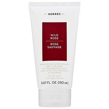 KORRES Wild Rose Daily Brightening & Refinishing Buff Cleanser 5.07 oz