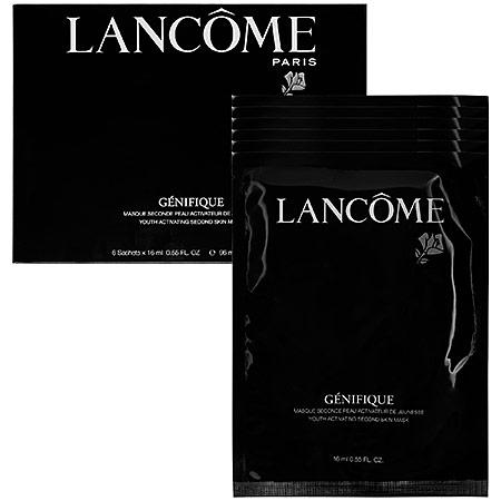Lancome Genifique Youth Activating Second Skin Mask 6 x 0.55 oz Sachets