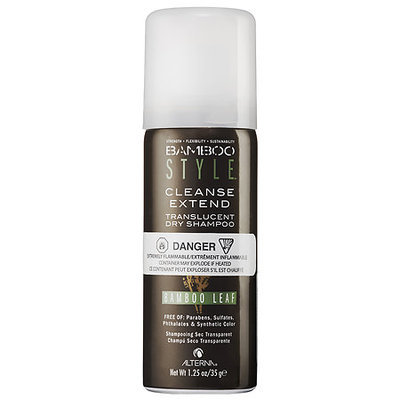 ALTERNA Haircare Cleanse Extend Translucent Dry Shampoo in Bamboo Leaf