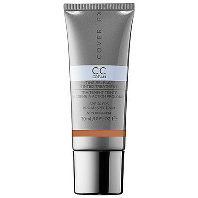 Cover FX CC Cream Time Release Tinted Treatment, P Med-Deep