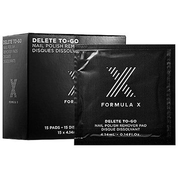 Formula X Delete To-Go Nail Polish Remover Pads